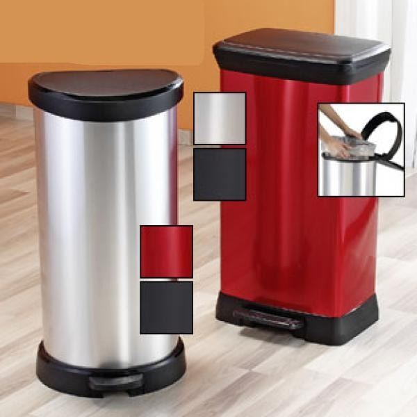 Buy Metallic Pedal Bin