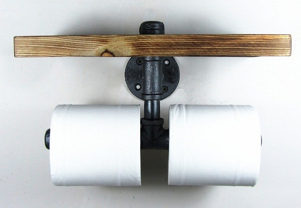 Double Toilet Paper Holder