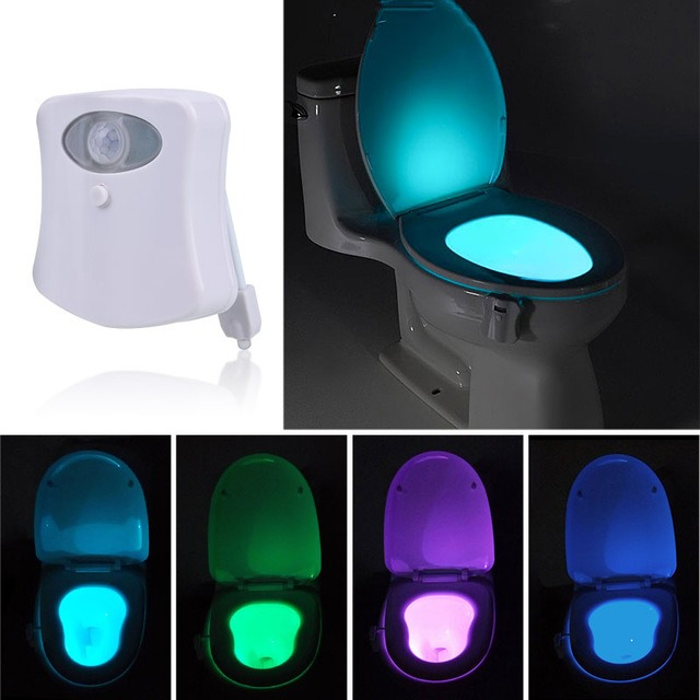 Toilet Seat Light Sensor