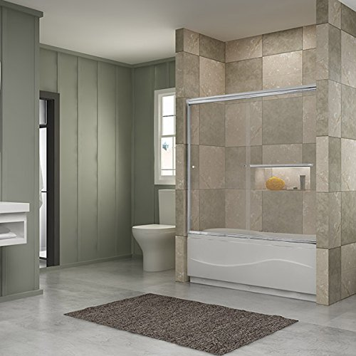 Frameless Sliding Bathtub Doors
