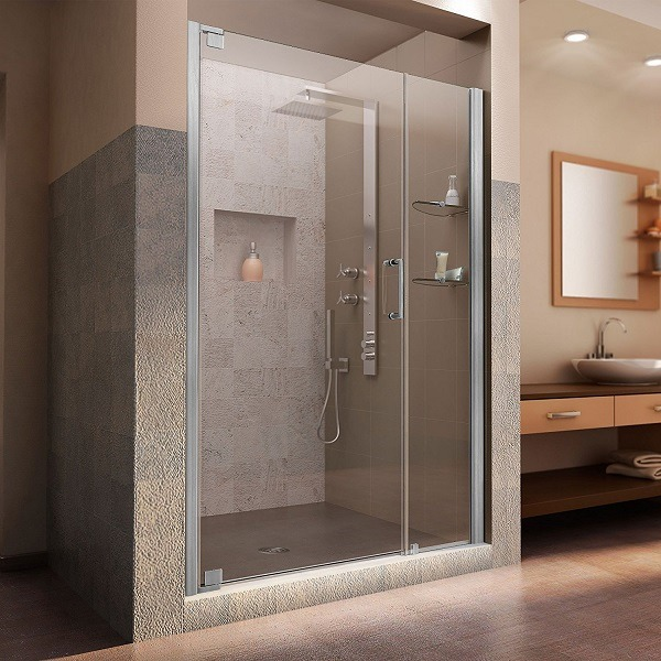 DreamLine Frameless Pivot Shower Door
